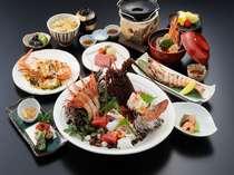彩色な海老料理を愉しむ海老めぐり会席