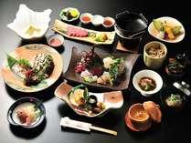 伊勢えび、あわび、松阪牛の三大味覚を堪能する至福の会席料理