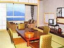 【和室】お部屋から上州三山と関東平野が一望できます