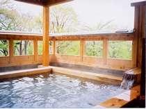 【風呂】桧露天御殿風呂