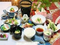 【夕食】料理基本8品