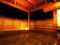 【数寄屋造りの桧露天】都会の喧騒から離れ、 自然豊かな伊香保の温泉で癒しの空間を・・・