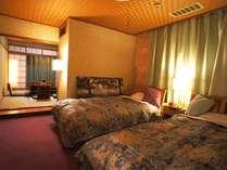 【10畳和室+広縁とツインベッドの和洋室】