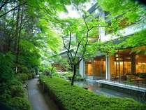 四季折々の表情を楽しむことが出来る日本庭園