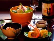 3種から1種を選ぶプレミアム日本酒付&客室グレードアップ&御食事処「思いのまま」の大人の贅沢プラン