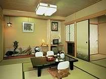 新別館 鶴喜(バス・ウォシュレット・次の間付き) 客室の一例