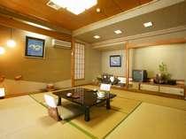 別館「華山」客室(和室、本間6~16帖・ウォシュレット・縁側付き)