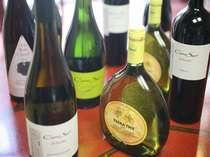 和食に合うワインを多数ご用意!(有料)