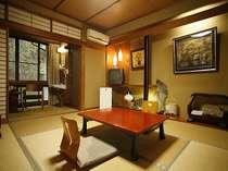 別館華山の和室(ウォシュレットトイレ付き)の一例