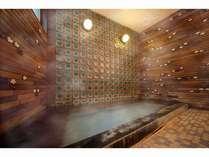 別館華山の貸切家族風呂。天然温泉100%城崎温泉のお宿では数少ない源泉掛け流しのお風呂です。
