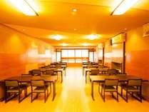 リニューアルされた本館「お食事処」です。本館は、夕・朝食共にこちらでの食事となります。
