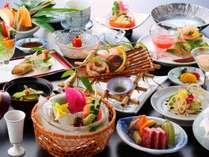 夏の和会席料理一例です