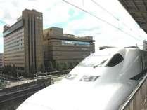 駅から見えるホテル★JR「京都」駅八条東口より徒歩1分の好立地!