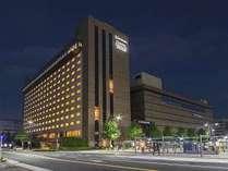 ◇外観◇JR「京都」駅八条口から徒歩1分!ビジネス・観光にアクセス便利♪