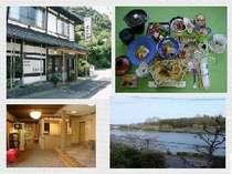 瀬田川畔。石山寺には徒歩5分。京都へは約30分