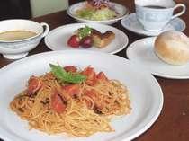 ホテル内のレストラン「pepe」では、本格イタリアンを堪能できます♪