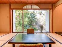 *【和室一例】洋室と異なり、和室の景色は自然が広がっています。