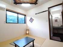 新館の客室一例 大浴場もすぐ横に。