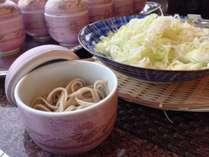 長野と言えば信州蕎麦!朝食では信州の食材をふんだんに使用!手作りでならではの味ををぜひ!