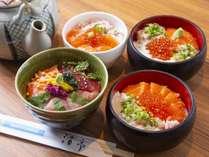 【朝食ビュッフェ】海鮮だし茶づけで温かさが体に染みわたります…