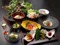 """■基本会席■""""新鮮""""・""""採れたて""""の食材を素朴な【自然創作料理-和食全-】にてご用意致します"""