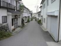 民宿街の風景