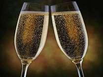 【クリスマスはホテルstay★】ディナーブッフェ&乾杯用グラスシャンパン付き(2食付)