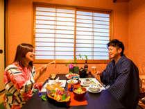 """◆安心♪個室食確約プラン◆ ~朝も夜も個室でお食事♪ 気兼ねなく""""信州の旬味""""に舌鼓~"""