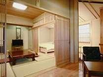 本館唯一!新設☆ベッド付客室【葵】のカップルプラン