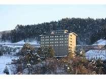 冬のグランティア飛騨高山 外観です