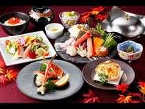 かに食べ比べ膳(メニュー一例)