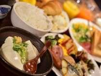 京都銀ゆば朝食バイキング