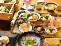2017年 春:旬菜料理プランの献立一例