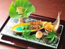 【前菜】旬の食材を使用した彩り豊かな前菜