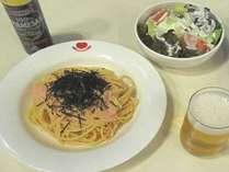 【訳あり】ご夕食はスパゲッティセット!軽食2食付きプラン(洋室1~2名)チェックインは20時迄