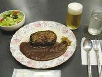 【訳あり】ご夕食はハンバーグカレーセット!(朝食なし)プラン(和室)チェックインは20時まで