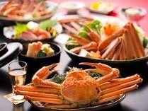 【蟹かに会席】冬の味覚「蟹」を焼き蟹や蟹すきでご堪能あれ♪