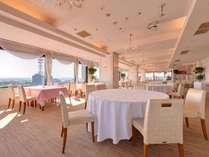 *8階展望レストラン/ご朝食は街を一望する、開放感いっぱいのこちらのレストランでお楽しみ下さい♪