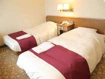 *ツインルーム一例[18平米]/清潔感のある客室とホスピタリティで快適な滞在を!