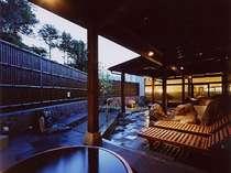 有田川温泉光の湯 露天風 肌ざわりの良い良質の温泉