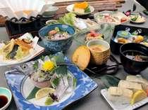 【たちうお会席膳】 国内屈指の漁獲量の本場で食す♪