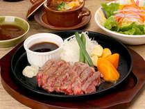 美味♪ 黒毛和牛ステーキディナーコース付きプラン♪