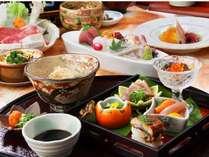 秋の彩り『懐石料理』