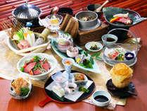 有田の恵みをふんだんに使った『グルメ会席料理』