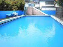 夏季限定施設内プールをOPENします!