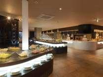 バイキングレストラン「COTA」/鮮やかに彩られたオホーツクの旬を贅沢にバイキングスタイルで提供。
