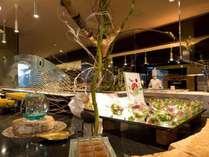 ◆バイキングレストラン「COTA」/鮮やかに彩られたオホーツクの旬を贅沢にバイキングスタイルで提供
