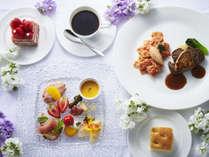<ラウンジで温かいひとときを>牛フィレ肉のソテーフォアグラ添えディナーセットプラン(夕朝食付)