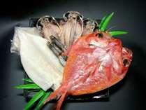 【2食付+干物土産】 熱海の老舗干物店 『釜鶴』のお土産特典!金目鯛の干物付♪《駐車場無料♪》