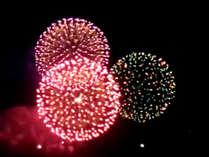 北國大花火川北大会が開催の8月5日(土)に屋上ビアガーデンを開催!屋上から真正面に花火が見えます♪
